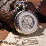 Montre mécanique Silver Full Hunter