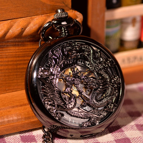 Montre mécanique Dragon & Phoenix