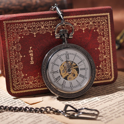 Montre mécanique Leather Cover Antique