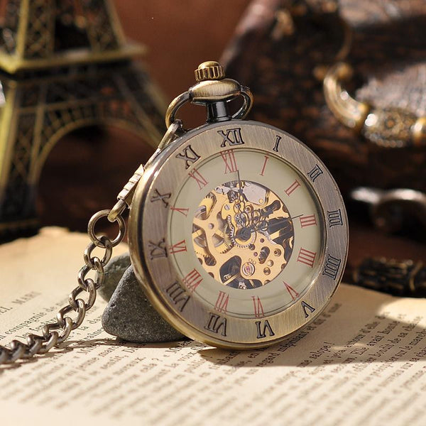Montre mécanique Antique Bronze