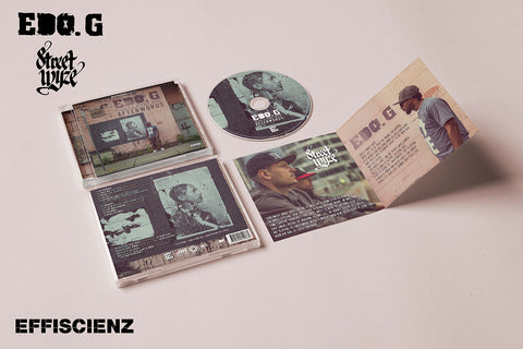 "Edo. G & Street Wyze ""Afterwords"" (CD)"