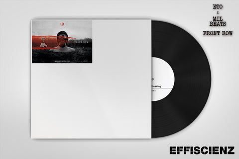 "Eto x Mil Beats ""Front Row"" (Test-Press) (PRE-ORDER)"