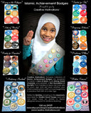 Islamic Achievement Badges : Set 2 of 10 (6 badges)