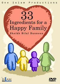 33 Ingredients For A Happy Family   - Bilal Dannoun
