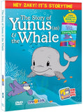 The Story of Yunus (as) & The Whale with Zaky (Cartoon DVD)