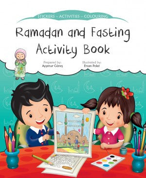 Ramadan And Fasting Activity Book - Aysenur Gunes