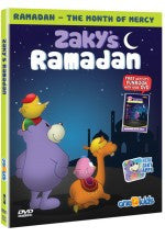 Zaky's Ramadan - Cartoon DVD