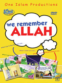 We Remember Allah - Cartoon DVD