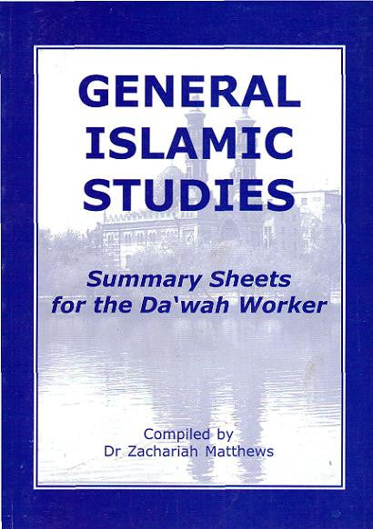 General Islamic Studies - Zachariah Matthews