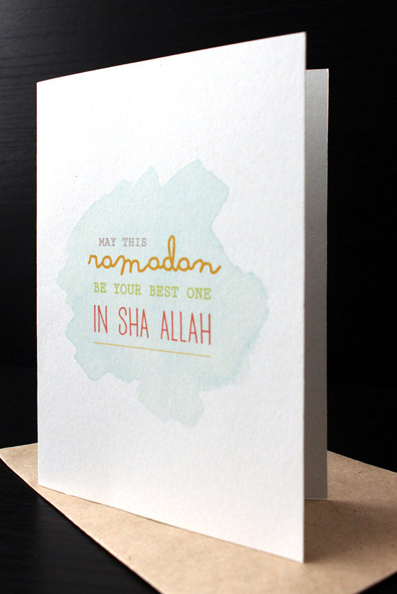 Ramadan Greeting Card Geometry Collection 4