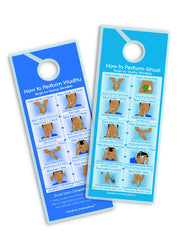 Ghusl And Wudu Shower Guide Cards
