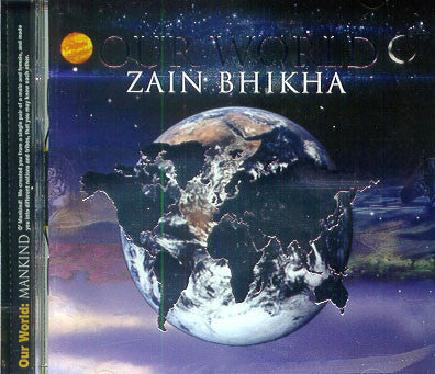 Our World (audio CD) Drums only Version - Zain Bhika