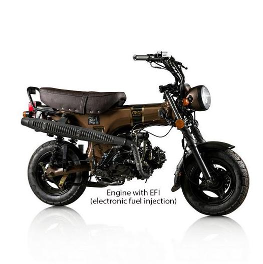 Skyteam Skymax Flat Line 50cc - C Brown