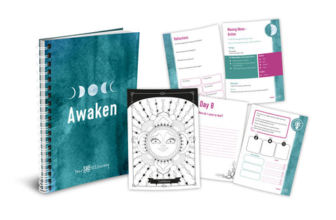 Awaken Moon Journal - Your SHEro's Journey