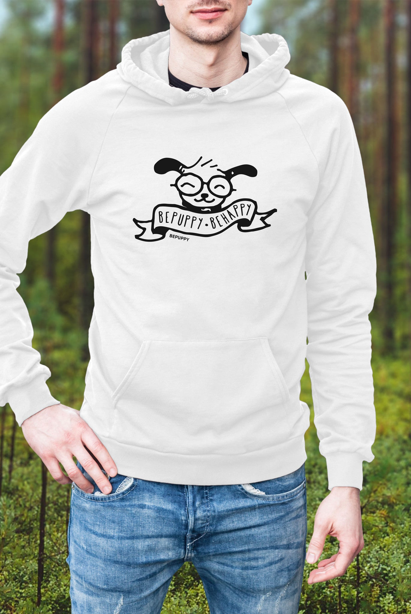Pullover Hoodies, bepuppy be happy! - BEPUPPY
