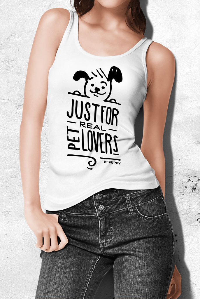 Tank tops for women, just for real pet lovers! - BEPUPPY
