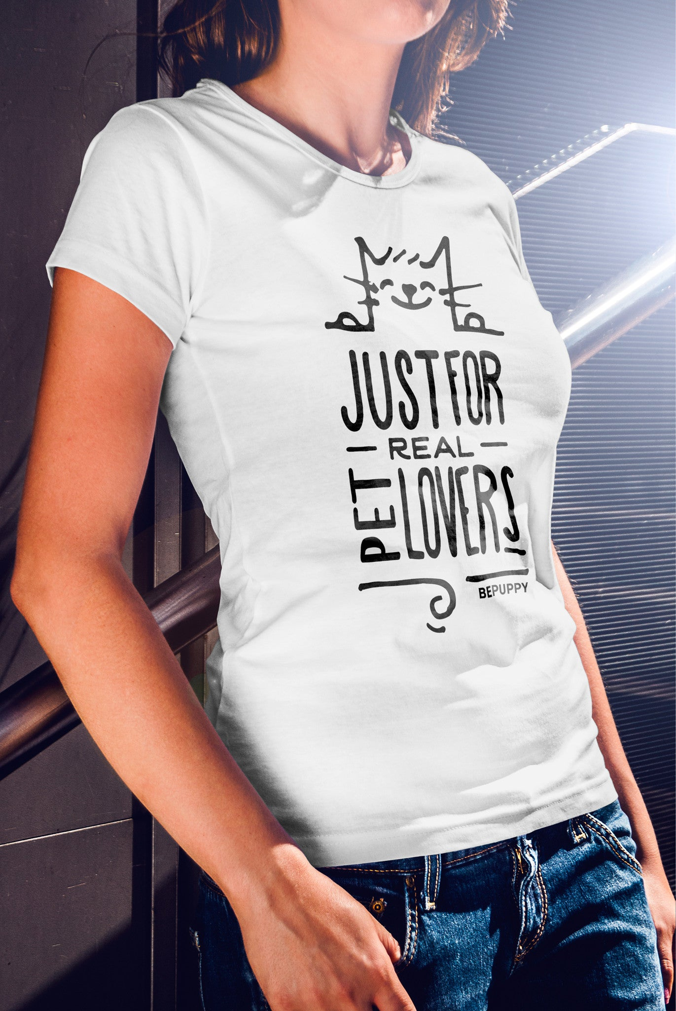 T-shirts for women who love cats! Cat lover t-shirts - BEPUPPY