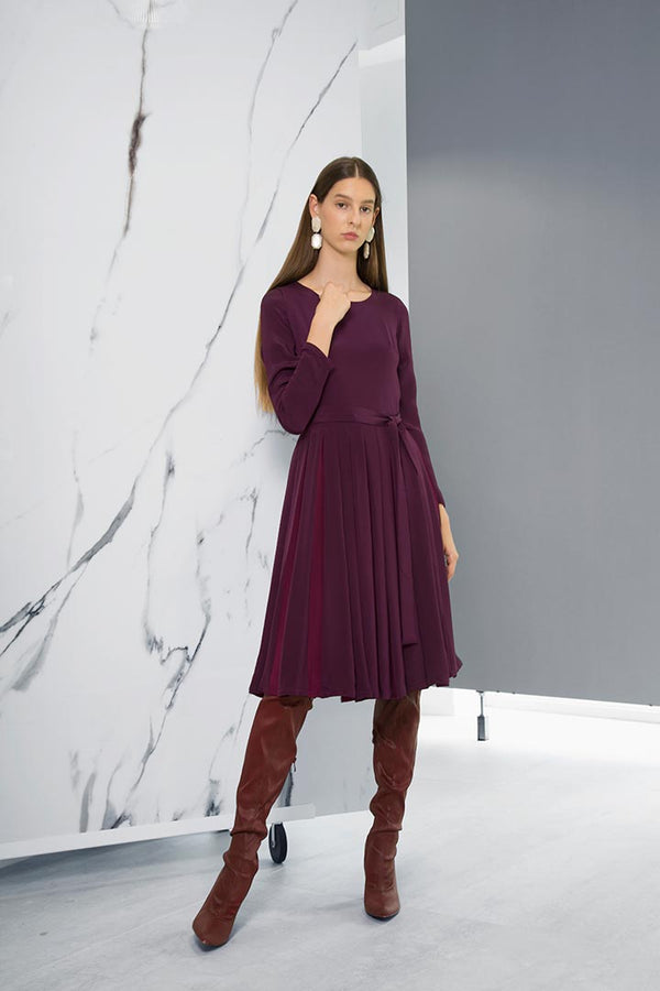 Vinaccia Silk Dress