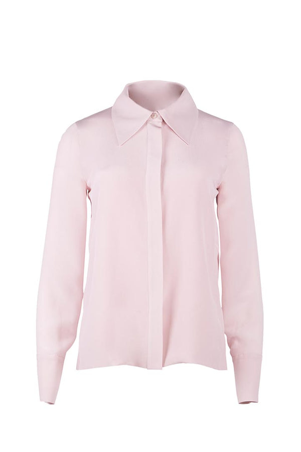 Rose Silk Shirt - Shopyte