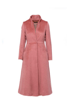 Deep Ruby Baby Lama Coat - Shopyte
