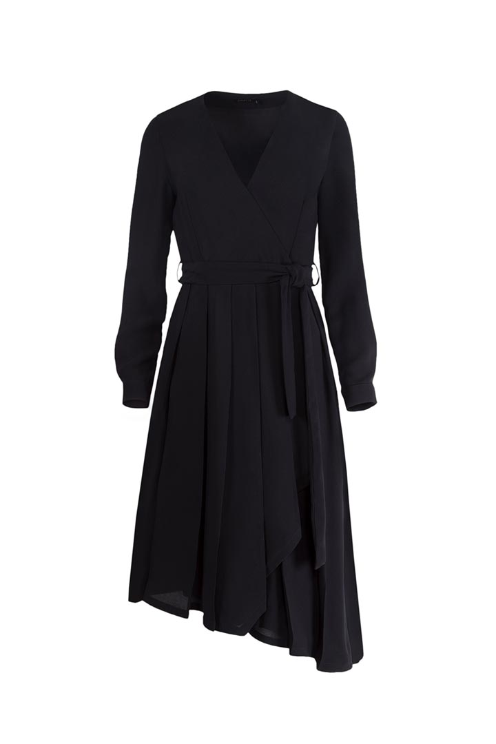 Black Viscose Dress