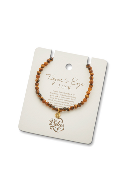 PALAS TIGERS EYE GEM BRACELET