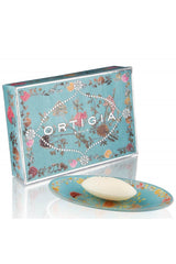 ORTIGIA SICILIA GLASS DISH & SOAP SET FLORIO