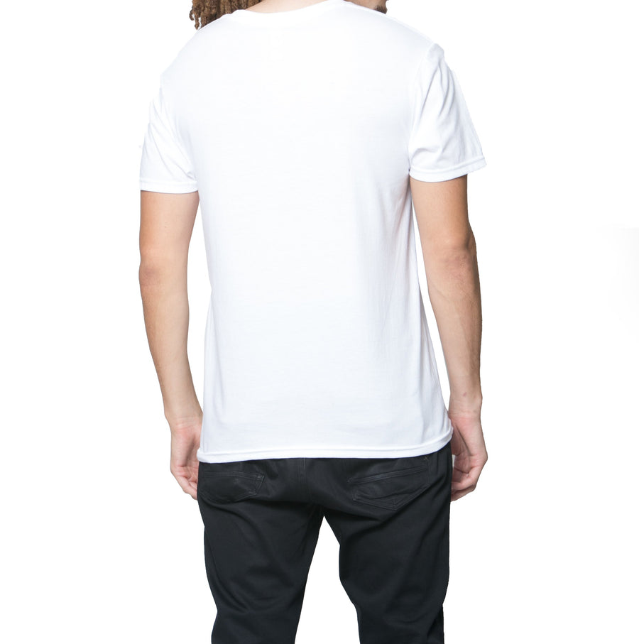Lights Out Tee - White