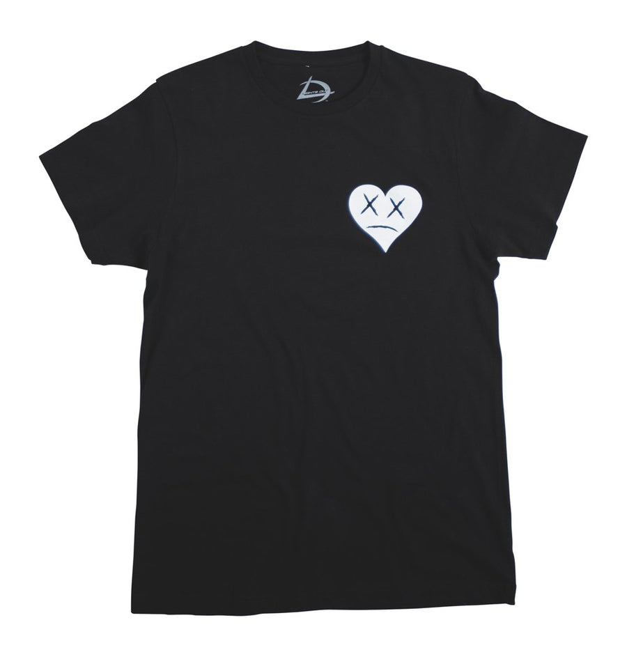 Womens Small Hearts Tee