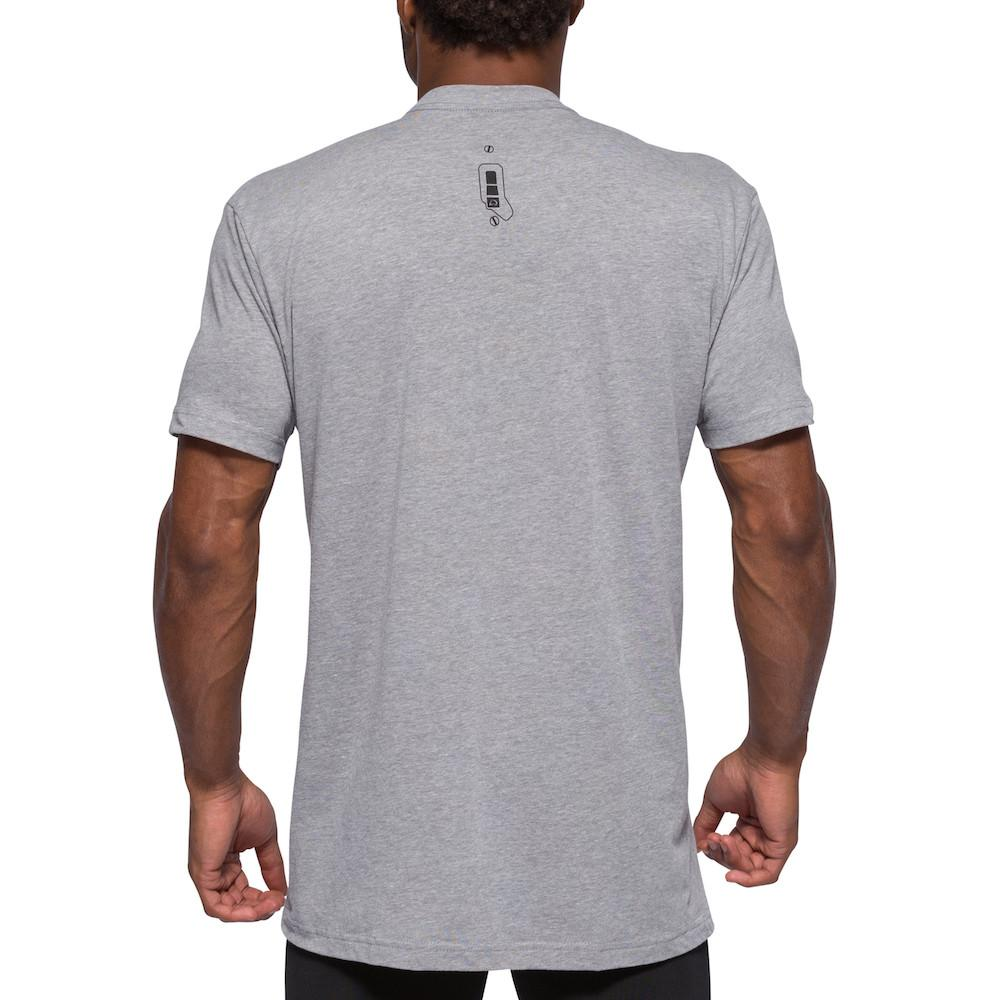 Switch Tee - Grey Marle
