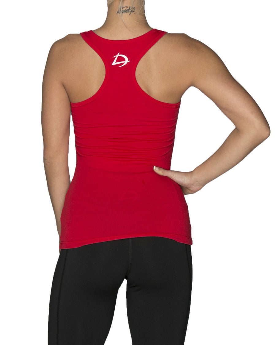 City Lights Tank - Red
