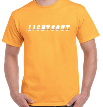 Lights Out Dash Tee - Yellow