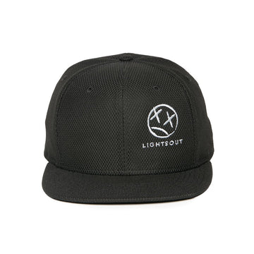 Lights Out Hat Black