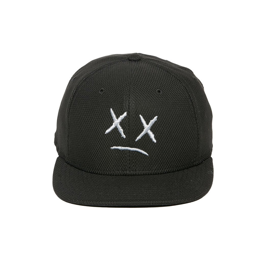 Knock Out Hat Black White