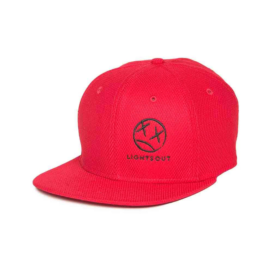 Lights Out Hat Red