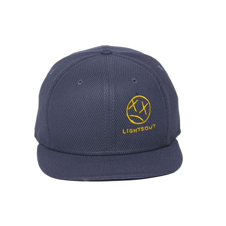Lights Hat Navy Gold
