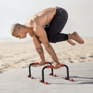 RubberBanditz Lightweight Parallettes