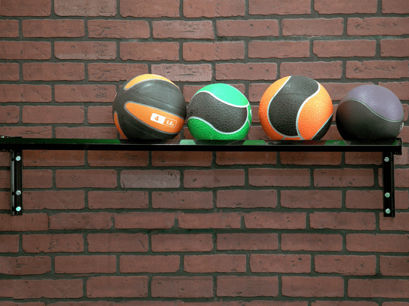 STROOPS WALL MOUNT MEDICINE BALL RACK