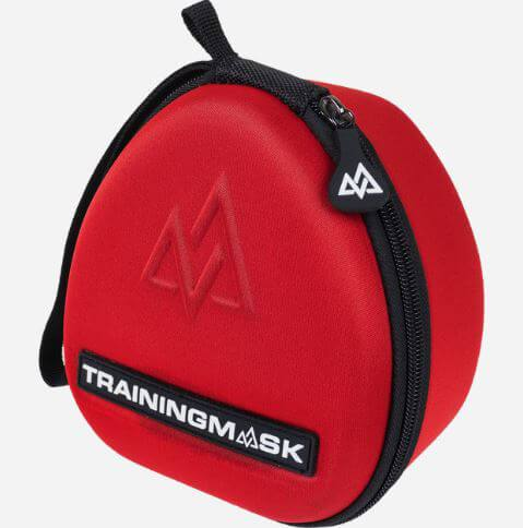 Training Mask Carry Case Red