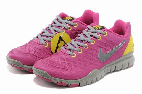 Women Nike Free TR FIT 2 SHIELD Pink Silvery Shoes