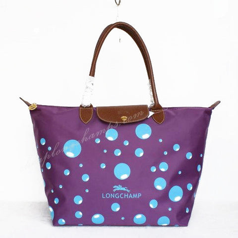 Longchamp Bubble Bags Purple