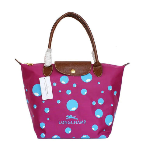 Longchamp Bubble Bags Deep Pink