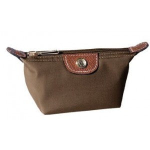 Longchamp 1948 Coin Purse Coffee