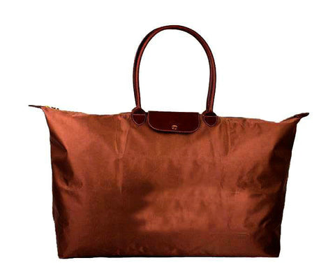 Longchamp Classic Travel Bags Brown