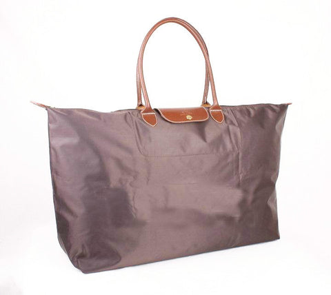 Longchamp Classic Travel Bags Chocolate