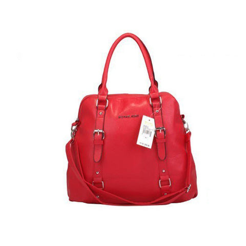 Michael Kors Bowling Large Red Tote