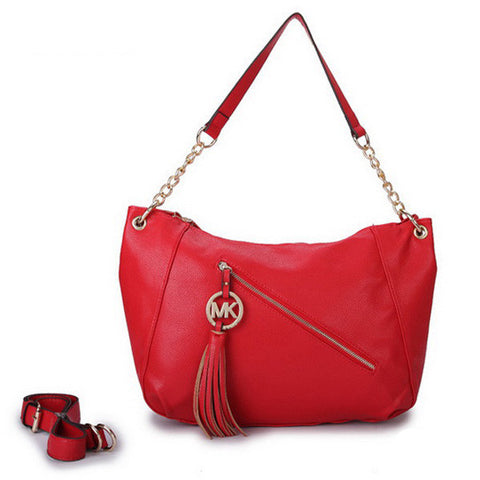 Michael Kors Chain Large Red Tote
