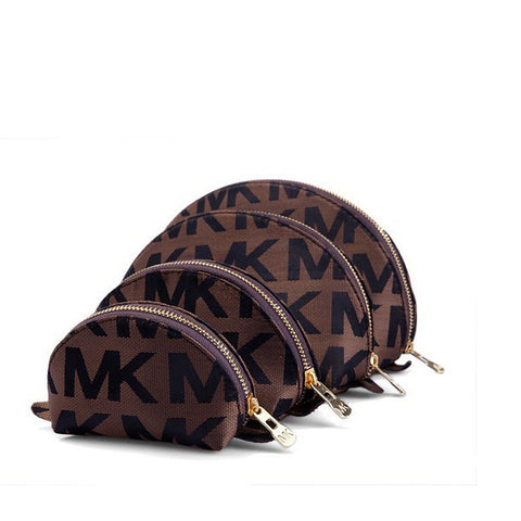 Michael Kors Circle Brown Wallet