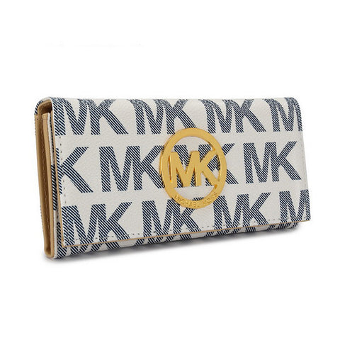 Michael Kors Envelope Large Vanilla Wallet