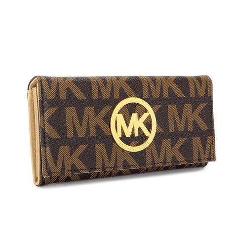 Michael Kors Envelope Large Brown Wallet